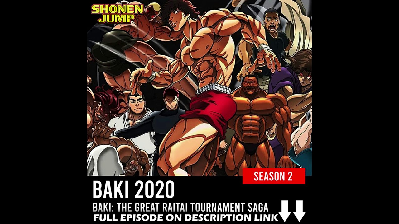 Baki 2nd Season; Baki the Grappler 2
