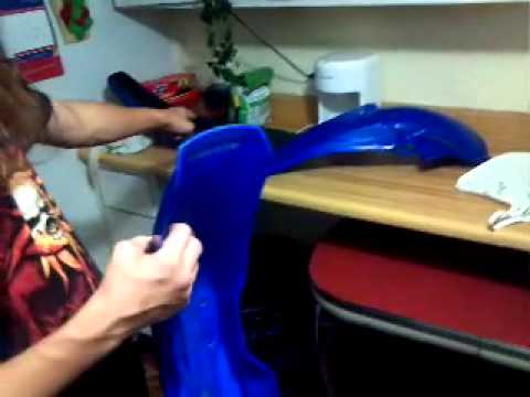 How to clean your Dirt Bike plastics