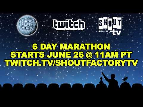 Mystery Science Theater 3000 | Twitch Marathon [HD] | Promo