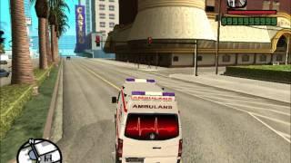 GTA San Andreas VW Crafter Turkish ambulance mod