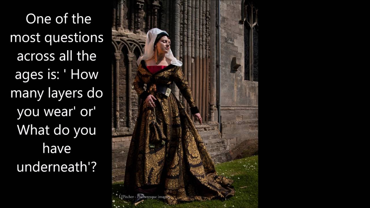 dressing up medieval lady - YouTube 7a3833639