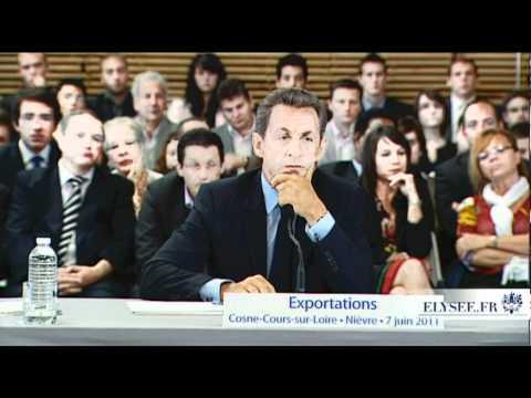 Table ronde avec N. Sarkozy dans la Nièvre