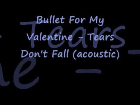 Bullet For My Valentine - Tears Don't Fall (acoustic) [lyrics]