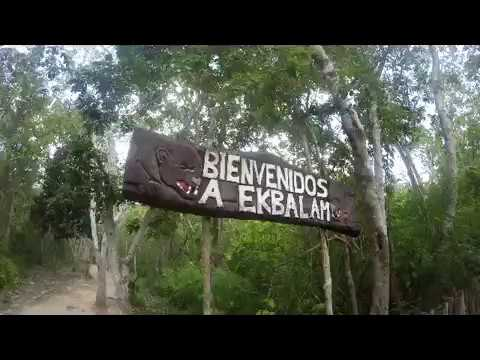 Ek Balam et le cenote X'canche