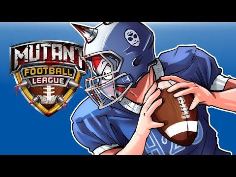 Mutant Football League - GET TACKLED!!!! Vs Cartoonz!