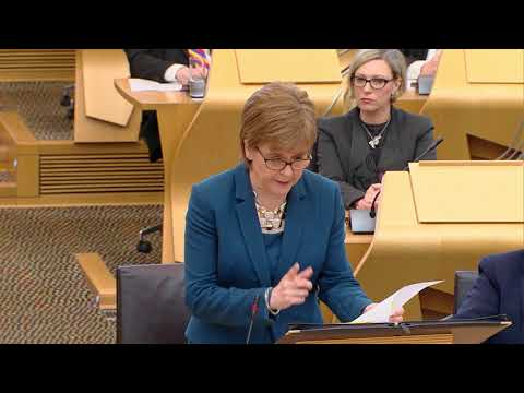 First Minister's Questions - 22 March 2018
