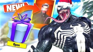 *NEW* Random VENOM Voice Troller GIFTED Me a SUPER RARE SKIN On CHRISTMAS DAY In Fortnite!