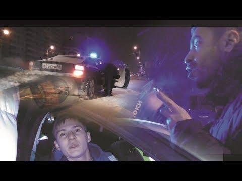 Выдержке сотрудников полиции Сургута посвящается. Пьяный водитель на И. Киртбая