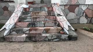 видео Камины из натурального камня мрамора и известняка: виды и особенности