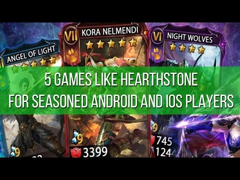 7 games like Hearthstone for seasoned Android and iOS card