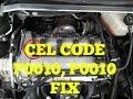 CHEVY 2.4L Code P0010 & p0011 Camshaft Position Actuator Solenoid ( HHR, COBALT, MALIBU)