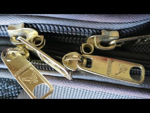Awesome tricks to fix a  zipper. how to.