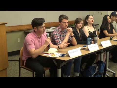 LWV- Higher Education Study Student Panel - Feb 16, 2016 - Berkeley Main Library