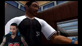 NBA Ballers Phenom Story Mode Part 1 - Creation of Dutt Reacts!