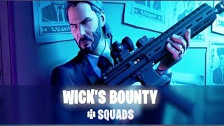 The Most Insane John Wick LTM Game - Fortnite John Wick Bounty