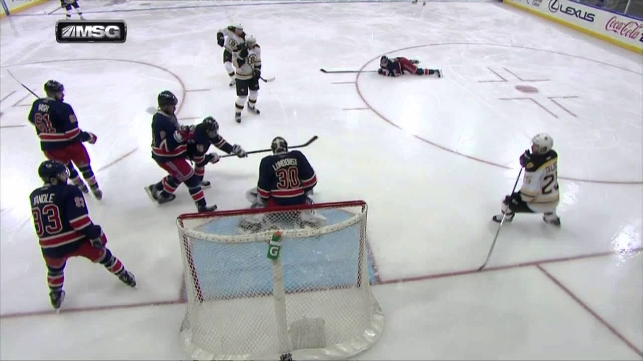 Gotta See It  Lundqvist s amazing scorpion kick save - YouTube 279a54de3