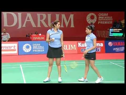 R16 - WD - M. Jauhari / G. Polii vs. Jwala Gutta/Ashwini Ponnappa - 2011 Djarum Indonesia Open