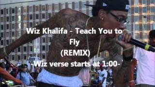Wiz Khalifa - Teach You to Fly (REMIX)