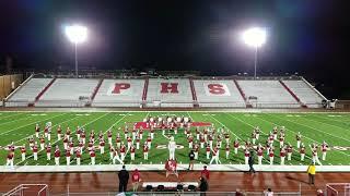 PHS BIG RED BAND @ PHS Invitational 10/20/2018