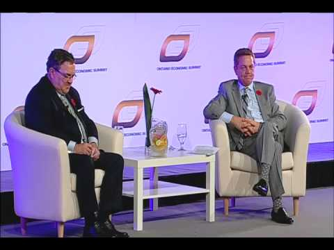 2013 Ontario Economic Summit | The Global Competitive Landscape with Hon. James Flaherty