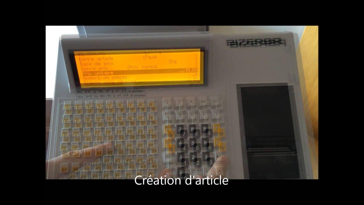 est metrologie bizerba sc ii youtube rh youtube com