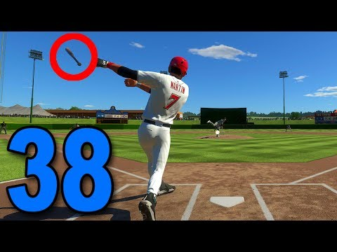 MLB 17 Road to the Show - Part 38 - THREW THE BAT 😱