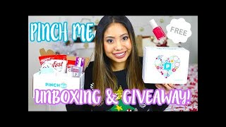 BEST SLIME 2018 | PINCH ME BOX REVIEW & UNBOXING | FREE SAMPLES !!!