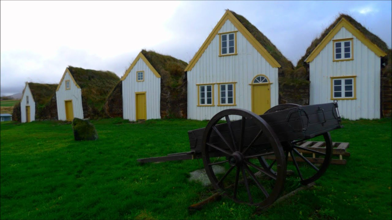 Typical icelandic houses glaumbaer iceland t picas - Casas en islandia ...
