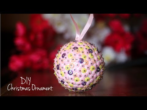 EASY Christmas Ornament Ideas | DIY Christmas Decorations | Christmas Ball Craft