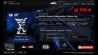 Gran Turismo®SPORT - Competições Online: Taça das nações FIA [Montanha Panorama][Corrida 2]
