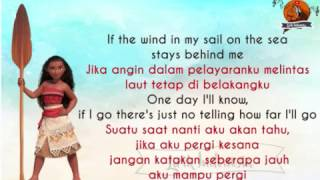 How far I 39 ll Go Moana dengan Lirik dan Terjemahan Bahasa Indonesa