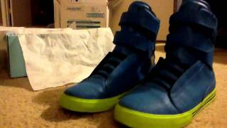 Supra Society Blue Crackles Forsale