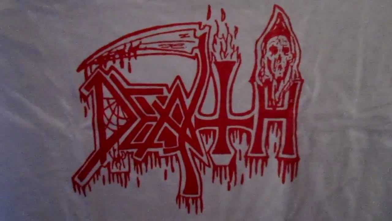 Death Classic Logo T Shirt White Relapse Records Youtube