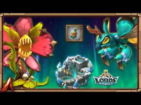 Using 250K Holy Stars! Looking For Queen Bee Venoms! Lords Mobile