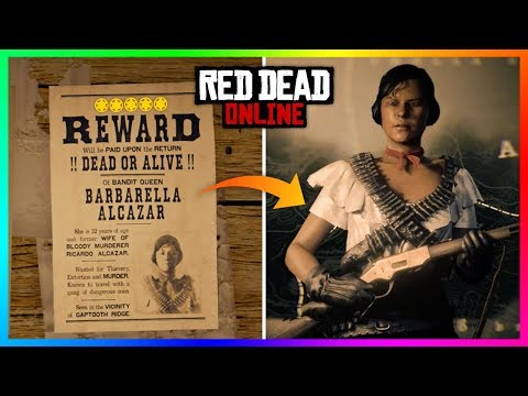 Hunting Down A 5-Star LEGENDARY Bounty In Red Dead Online! FAST & EASY Gold, Money And XP! (RDR2)
