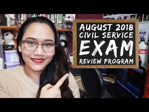 August 2018 Civil Service Exam Review Program - Team Lyqa