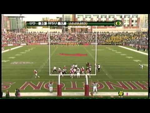 Oregon Ducks Vs Washington State Cougars, 10-9-10