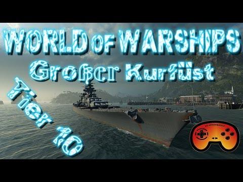 Großer Kurfürst - Tier 10 der Deutschen Schlachtschiffe - World of Warships - German Battleships