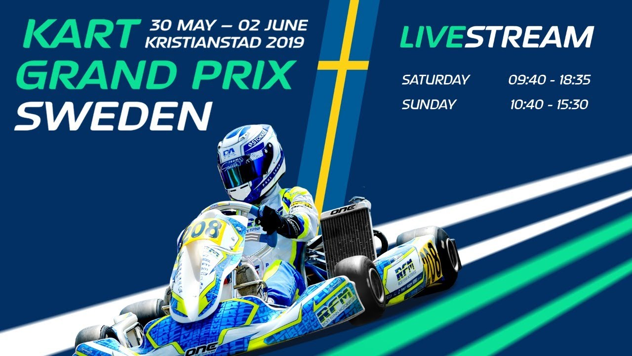 Sunday Livestream Round 3 Fia Karting Ok And Ok Junior European