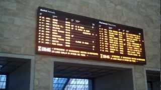 Plan Your Own Vacation To Travel Italy - Day 5 (01) Florence Train Station