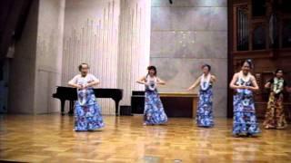 むさしの教会 フラダンス.