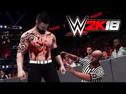 WWE BLOODIEST MATCHES EVER!! (WWE 2K18 My Career Mode, Episode 4)