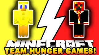 Minecraft TAP IN & OUT CHALLENGE! #1 (Hunger Games) w/ Preston & Choco