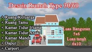 Renovasi Rumah Subsidi Type 30 60 Terbaru Youtube