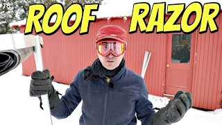 This Crazy Gadget Is On Another Level - Roof Razor