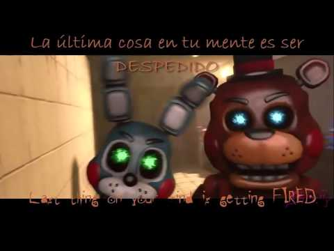 Five Nights at Freddys 3 Rap Another Five Nights Animation Sub Español