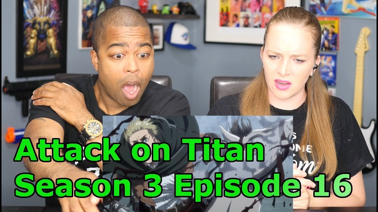 e46900a0 High School Teacher Reacts To Attack on Titan Season 3 Episode 16 `Perfect  Game`