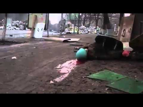 Как убивали людей  на майдане украина 2014