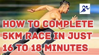 SSC GD ।। How to complete 5 km race in 16 minutes।। Army ।। HD