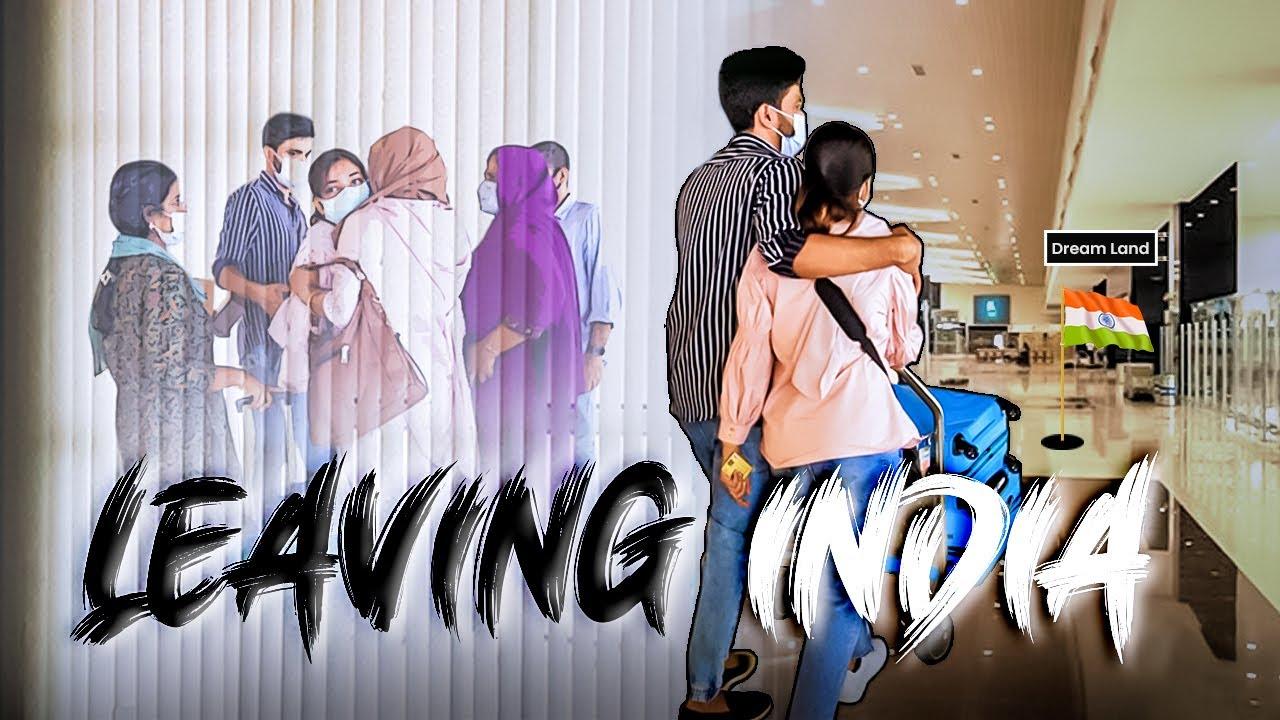Download Leaving India 🇮🇳 | Moving to dream land | UNAISA SUBAIR